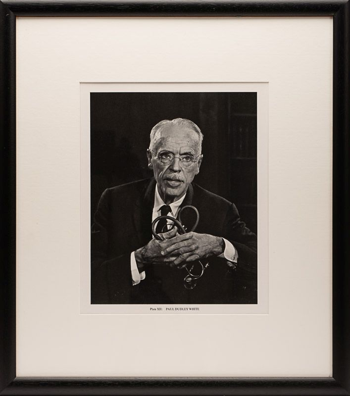 Yousuf Karsh - Original, vintage gelatin silver print of american physician and cardiologist, Paul Dudley White.