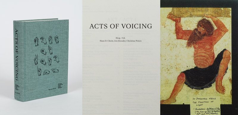 Christ, Hans D. / Dressler, Iris / Peters, Christine. Acts of Voicing.