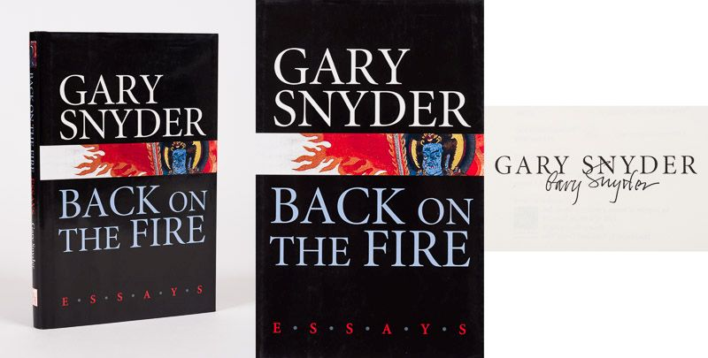 Snyder, Back on the Fire – Essays.