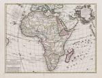 Collection of 24 rare 18th and 19th century maps on precolonial Africa.