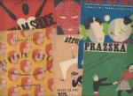 Jaroslav Jezek - Collection of seven (7) vintage, original scores of sheetmusic by this famous czechoslovakian avantgarde jazz musician, and composer.
