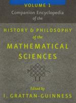 Grattan-Guinness, Companion Encyclopedia of the History and Philosophy of the Mathematical Sciences.