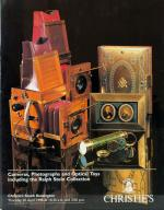 Christie's. Cameras, Photographs and Optical Toys including the Ralph Stein Collection.
