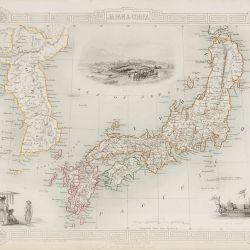 Rare Maps - Japan & Korea