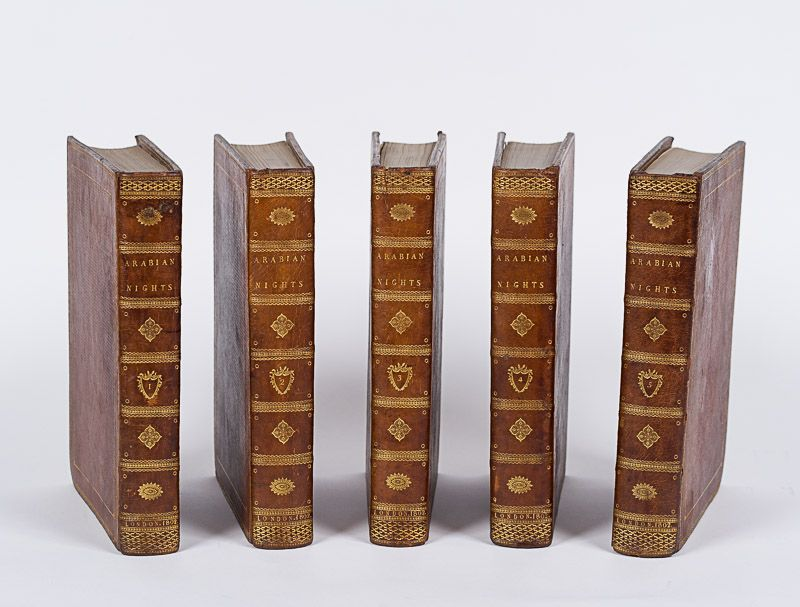 [Arabian Nights], The Arabian Nights, in Five Volumes.