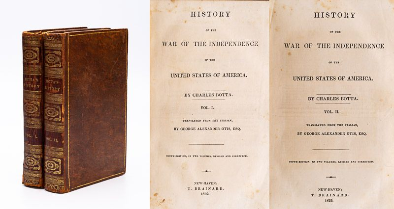 [Jefferson, History of the Independence of the United States of America. [Associ