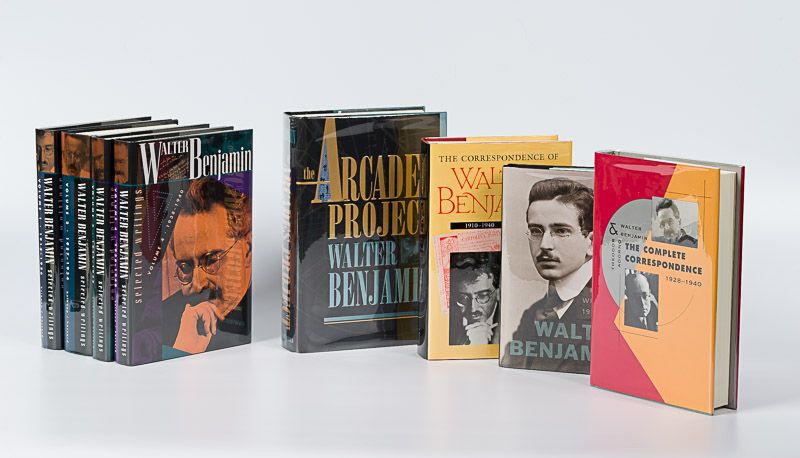 Benjamin, Fantastic Collection of eight Volumes of Philosophical Writings and Bi